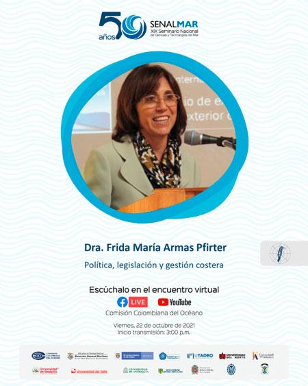 Dra. Frida María Armas Pfirter